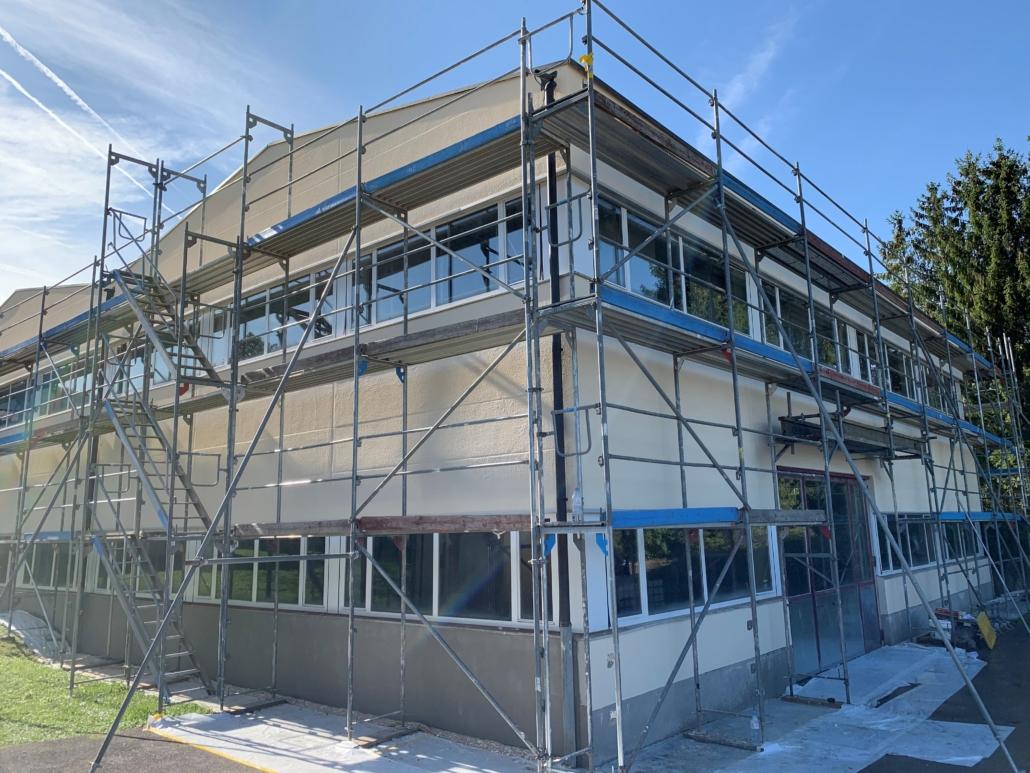 Fassadensanierung in Basel